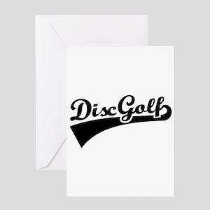Disc golf Greeting Card