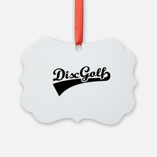 Disc golf Ornament