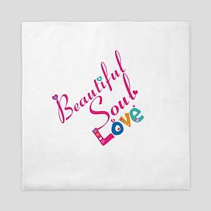 Beautiful Soul Love Queen Duvet