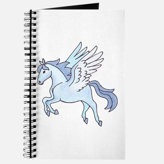 Pegasus Blue Journal