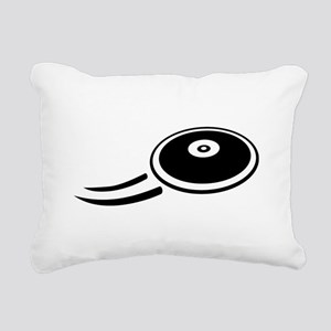 Discus throw Rectangular Canvas Pillow