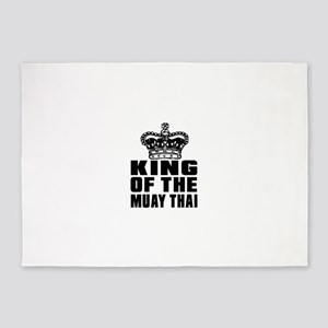 King Of The Muay Thai 5'x7'Area Rug