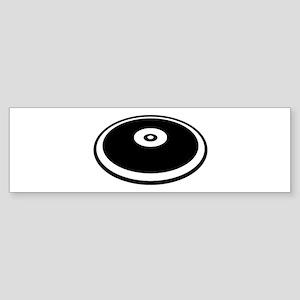 Discus throw Sticker (Bumper)