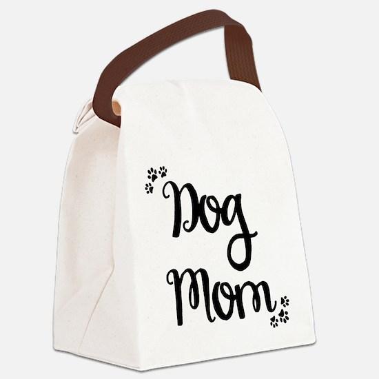 Unique Dog mom Canvas Lunch Bag