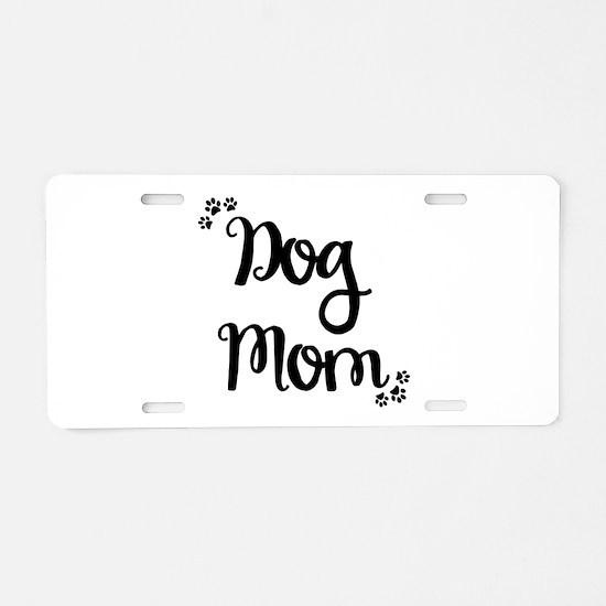 Unique Moms Aluminum License Plate