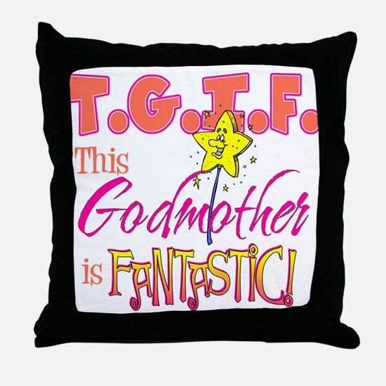 Fantastic Godmother Throw Pillow