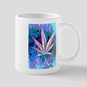 Pink Kush Leaf Mugs