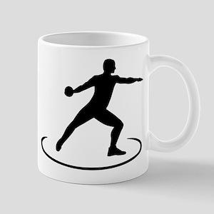 Discus throw Mug