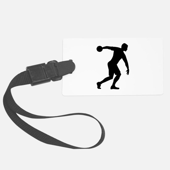 Discus throw Luggage Tag