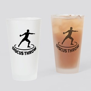 Discus throw Drinking Glass