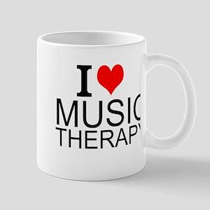 I Love Music Therapy Mugs
