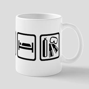 Eat sleep scuba diving Mug