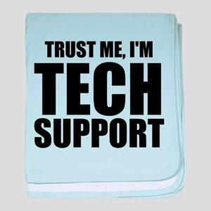 Trust Me, I'm Tech Support baby blanket