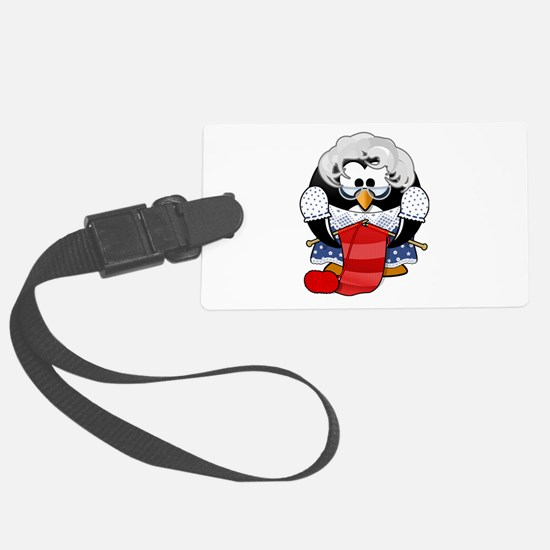 Unique Penguin Luggage Tag