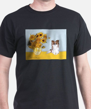 Sunflowers / Papillon(f) T-Shirt