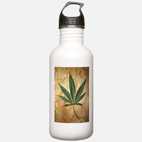 Kush Leaf Water Bottle