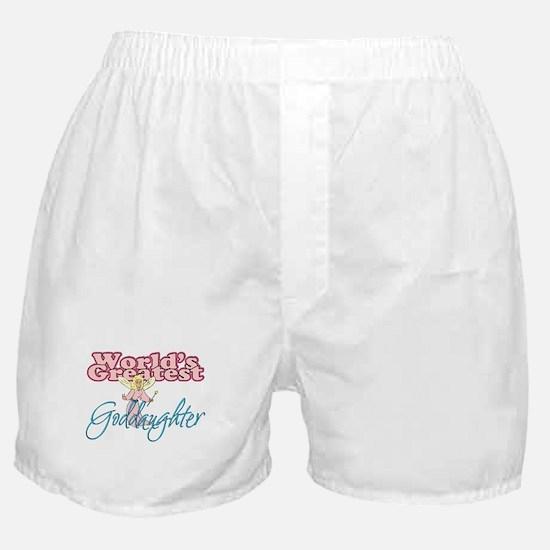 World's Greatest Goddaughter Boxer Shorts