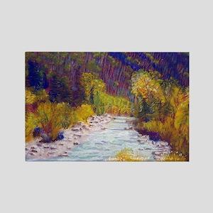 Animas River Near Durango Magnets