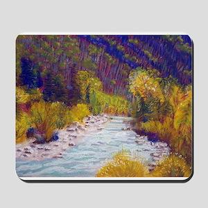 Animas River Near Durango Mousepad