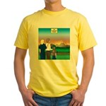 The Adventure Begins Yellow T-Shirt
