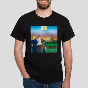 The Adventure Begins Dark T-Shirt