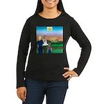 The Adventure Beg Women's Long Sleeve Dark T-Shirt