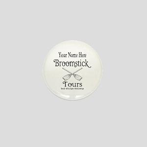 broomstick tours Mini Button