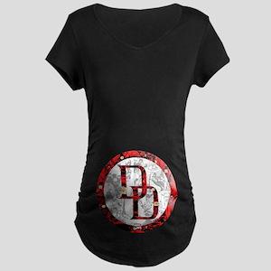 Daredevil Symbols Maternity Dark T-Shirt