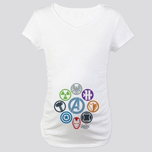 Avengers Icons Maternity T-Shirt