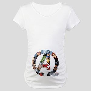 Avengers Assemble A Maternity T-Shirt