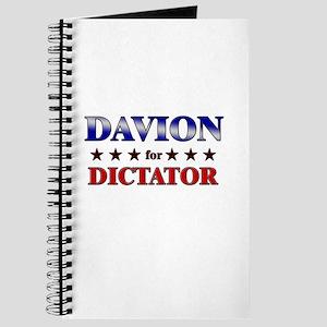 DAVION for dictator Journal