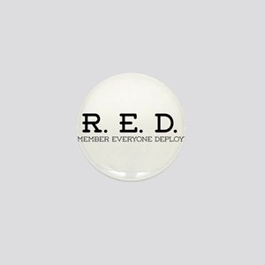 RED Logo Mini Button
