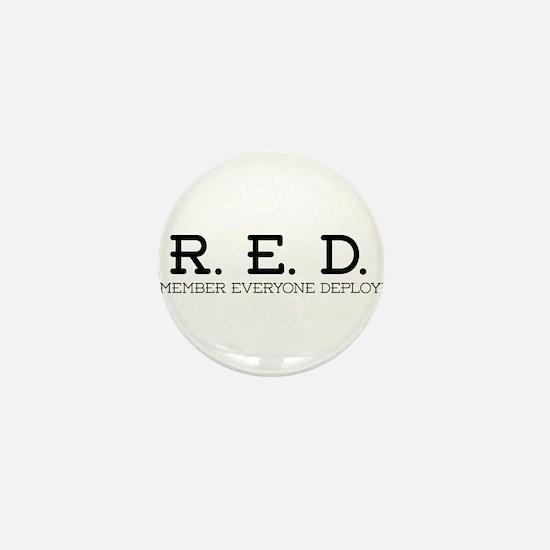 RED Logo Mini Button