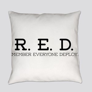 RED Logo Everyday Pillow