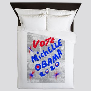 VOTE MICHELLE OBAMA 2020 Queen Duvet