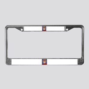 Psycho Trump License Plate Frame