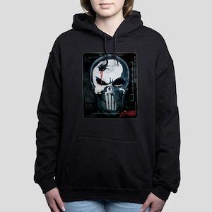 Punisher Skull X-Ray Women's Hooded Sweatshirt
