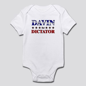 DAVIN for dictator Infant Bodysuit
