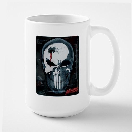 Punisher Skull X-Ray Large Mug