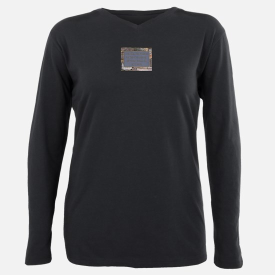 Charlie's Angels Sign Plus Size Long Sleeve Tee