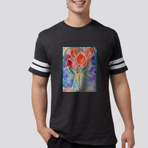 Tulips! Colorful, floral art! T-Shirt