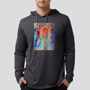 Tulips! Colorful, floral art! Long Sleeve T-Shirt