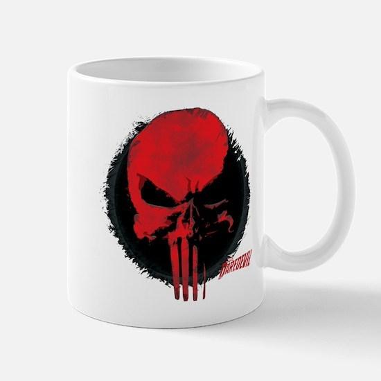 Punisher Skull Red Mug