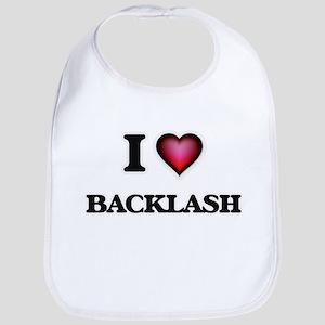 I Love Backlash Bib