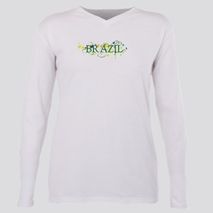 brazil Plus Size Long Sleeve Tee