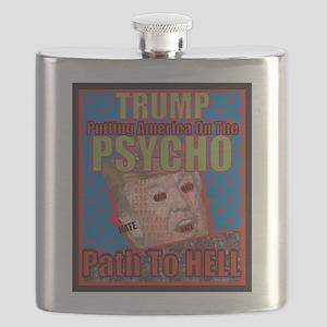 Psycho Trump Flask