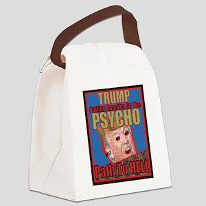 Psycho Trump Canvas Lunch Bag