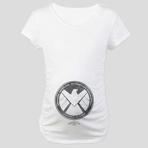 Metal Shield Maternity T-Shirt