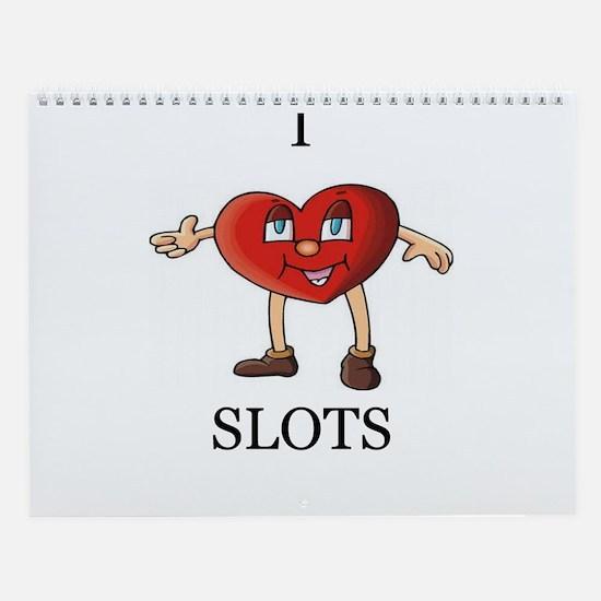 Slots Player Wall Calendar