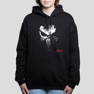 Netflix Punisher Skull Women's Hooded Sweatshirt